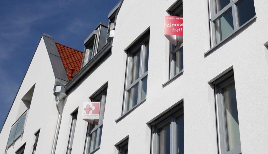 Zimmer frei: Die beiden Wohngemeinschaften haben je 12 Plätze. (Foto: SMMP/Beer)