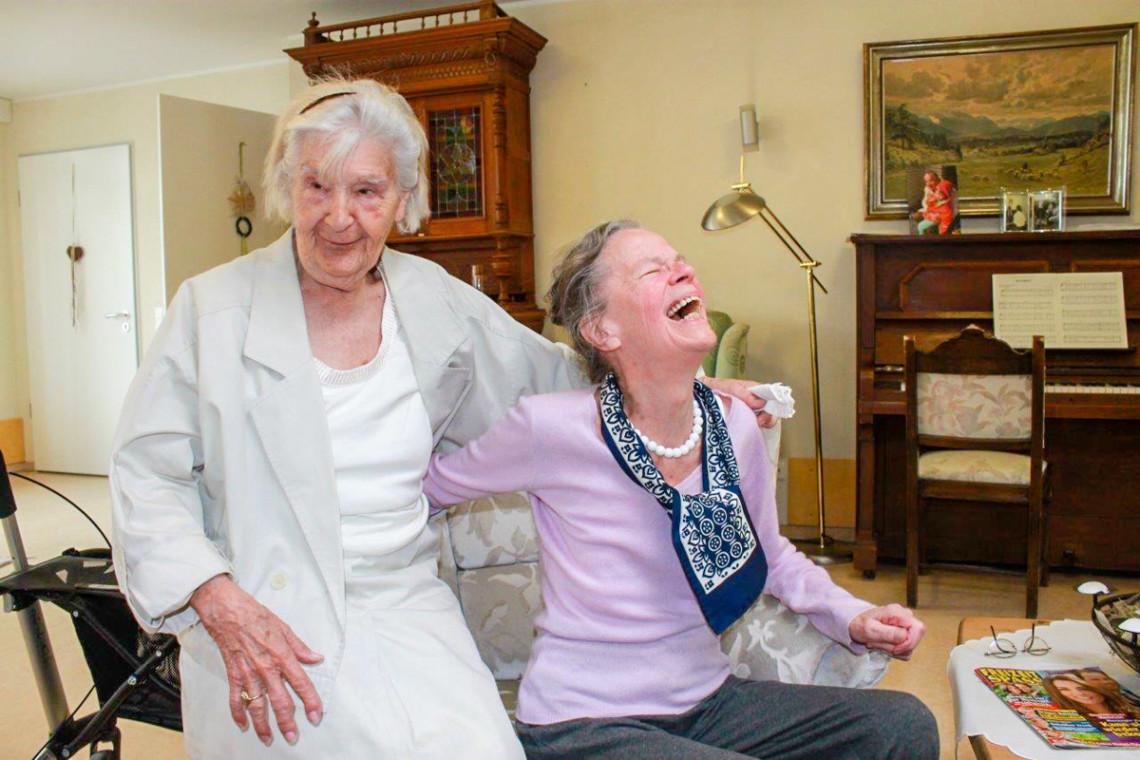 Leben in der Senioren-WG