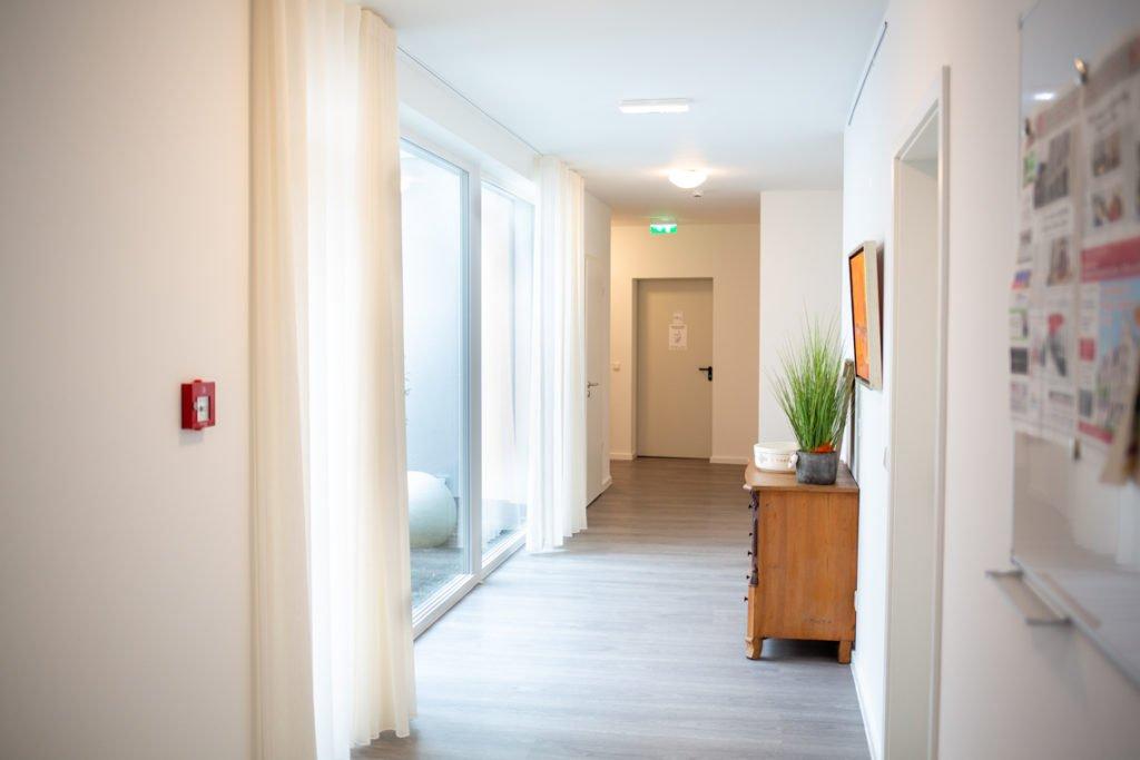 Ein Korridor im 1. Obergeschoss.