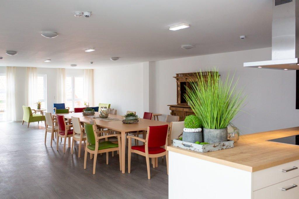 Wohnküche im 2. Obergeschoss